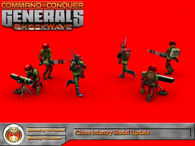 Updated Chinese Infantry