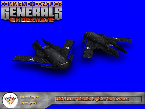 USA Laser Stealth Fighter