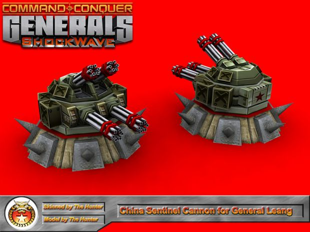 Sentinel Cannon for General Leang
