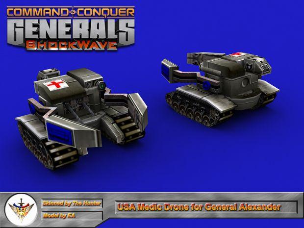 Medic Drone for General Alexander