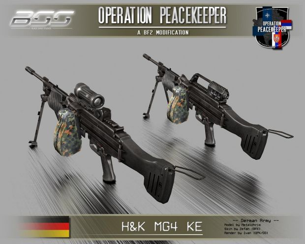 H&K MG4 image - Operation Peacekeeper 2 mod for Battlefield 2 - Mod DB