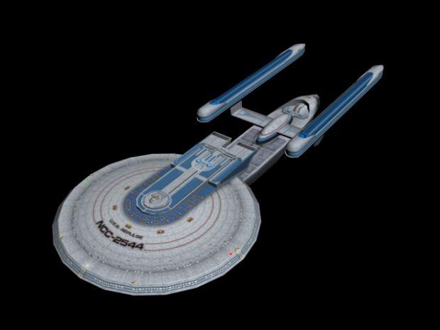 Excelsior Class Image Borg Incursion Vital Responses