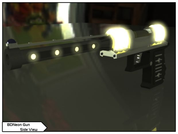 Brilliant Dynamites Neon Gun Image Trigun Permanent