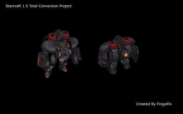 New Terran Marauder Model Preview