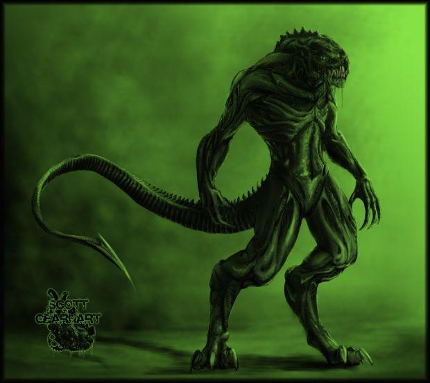 Alien Creature Concept