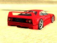 Ferrari F40 Beauty Shot