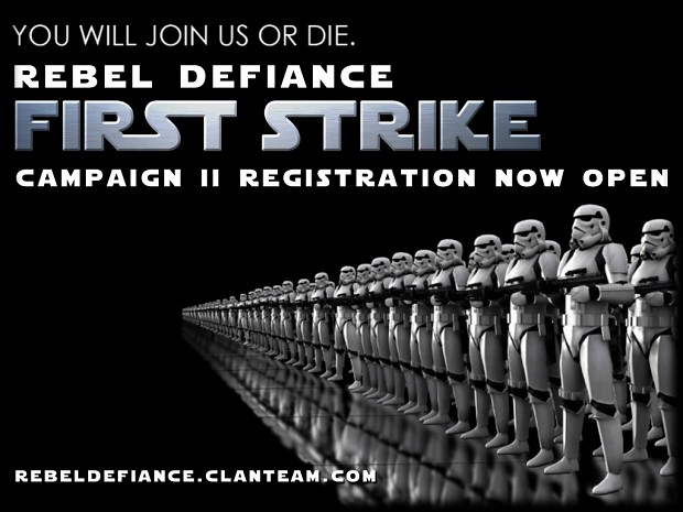 Rebel Defiance Campaign 2 Registration Now Open