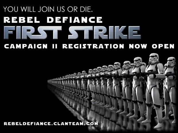 Rebel Defiance Campaign 2 Registration Now Open