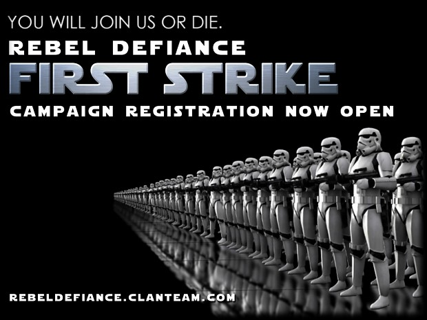 Rebel Defiance Campaign Registration Now Open