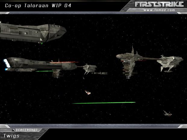 Battle of Taloraan Co-op WIP screenshots