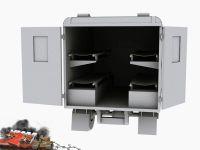 CMP army truck model render