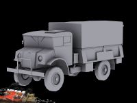 CMP army truck model render