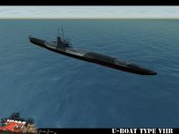 U-Boat type VIIb dive sequence