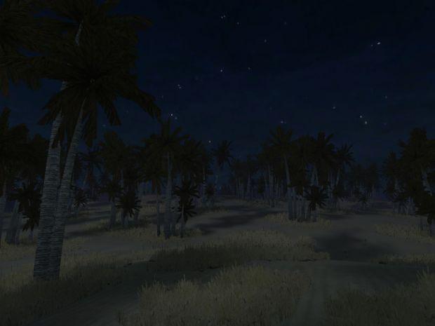 Kota Bharu at night time