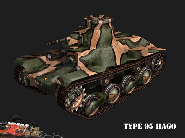 Type 95 Ha-Go render