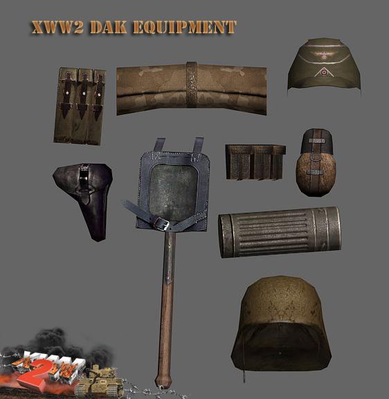 German DAK equipment