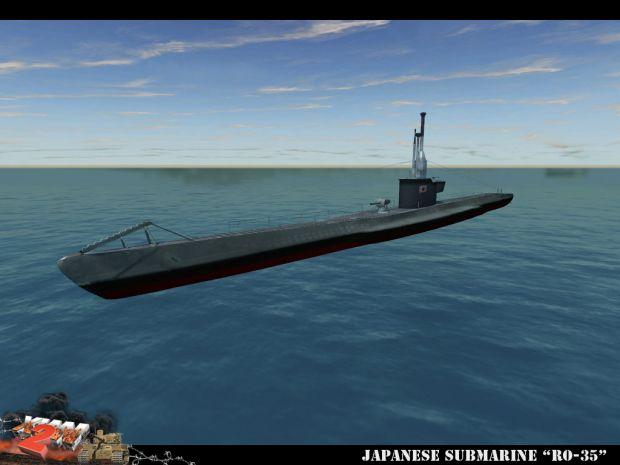 Japanese submarine RO-35