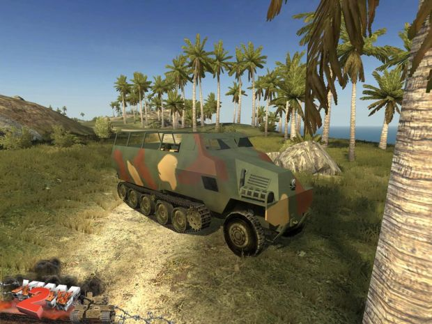 Ho-Ha armoured personnel carrier