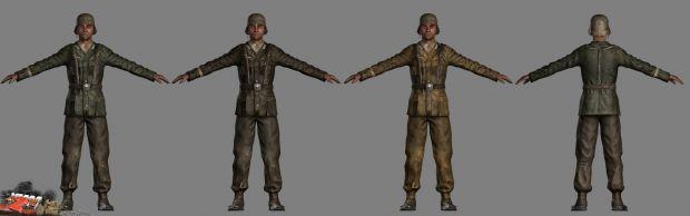 German Afrika Korps soldier