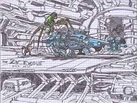 Concept art of the map zw_exodus