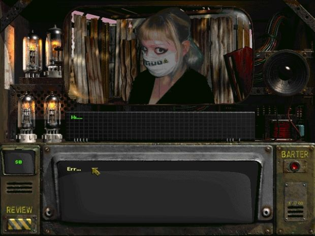 Static Talking head in Wasteland merc 3