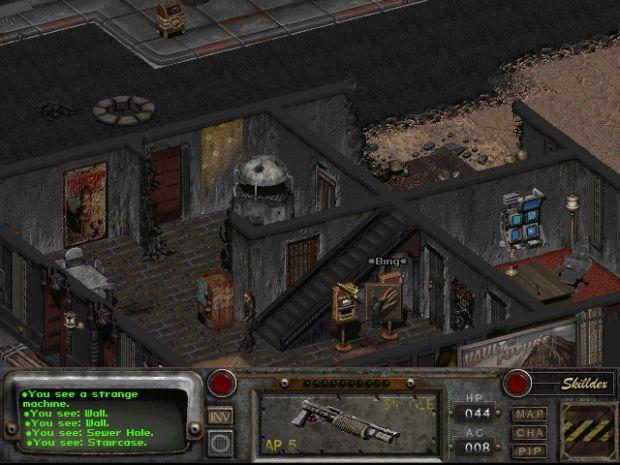 Main town screenshot