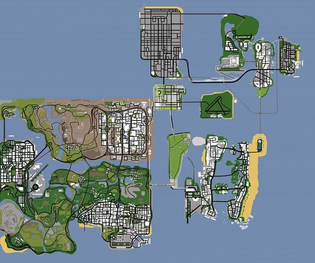Mappa de GTA SOL