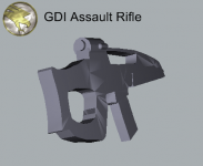 GDI Asault Rifle 1