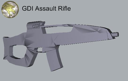 GDI Asasult rifle 2