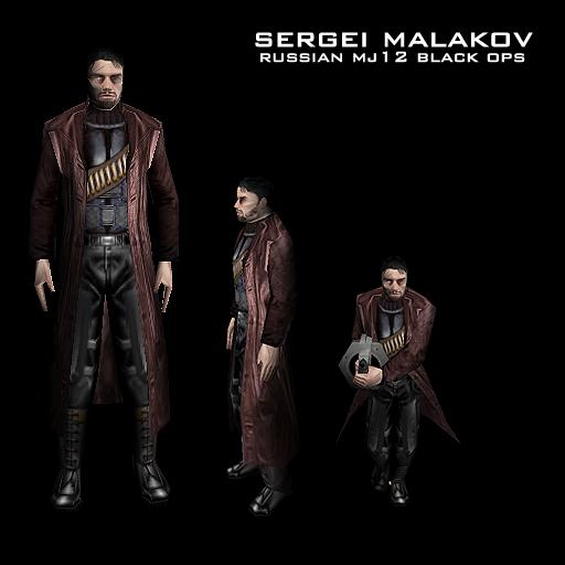 Agent Sergei Malakov