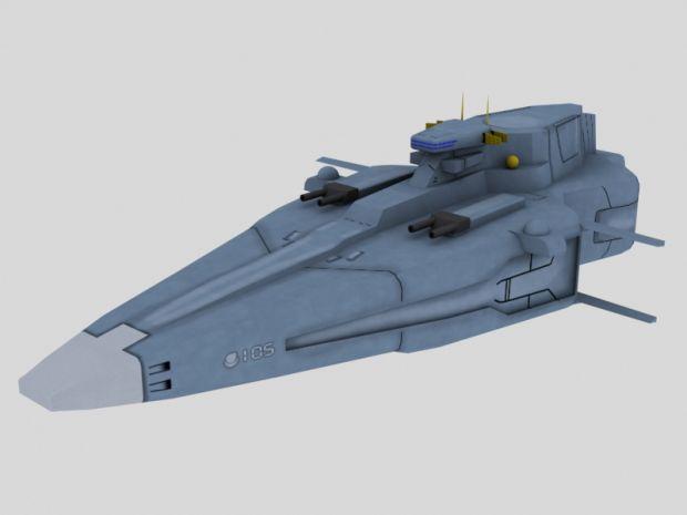 New Agamemnon Class Model