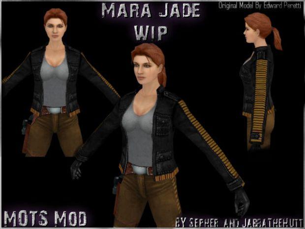 Mara Jade WIP