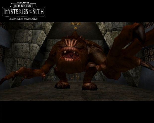 Rancor Promo Shot Image Mysteries Of The Sith Mod For Star Wars Jedi Academy Mod Db