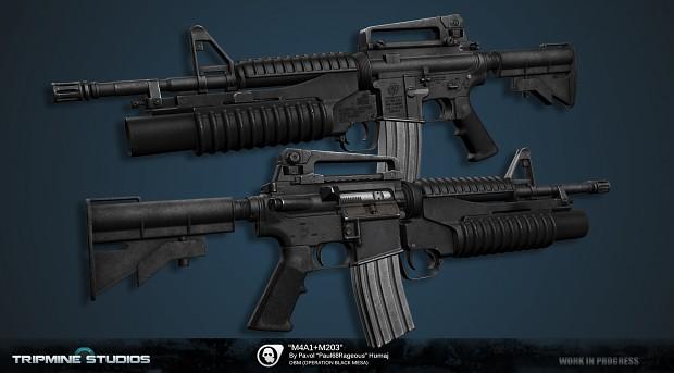 M4A1 + M203