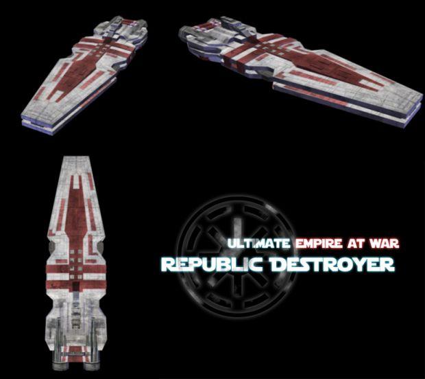 star wars republic destroyer - photo #20