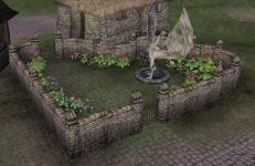 Small town garden