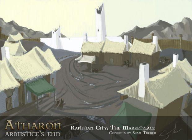 Concept: Raithian City - The Marketplace
