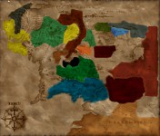 Map of the Middle Earth
