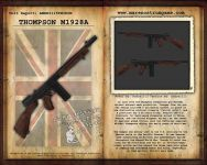 Thompson M1928-A1 Info Sheet