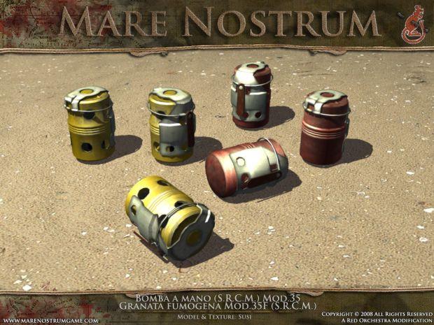 Mod.35 Grenades