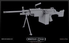 M249 Untextured 1