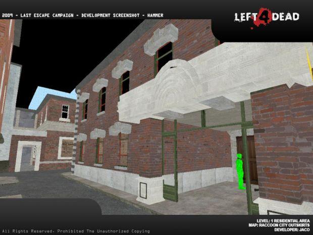 Raccoon City Area - 1 Level - Warehouse Area
