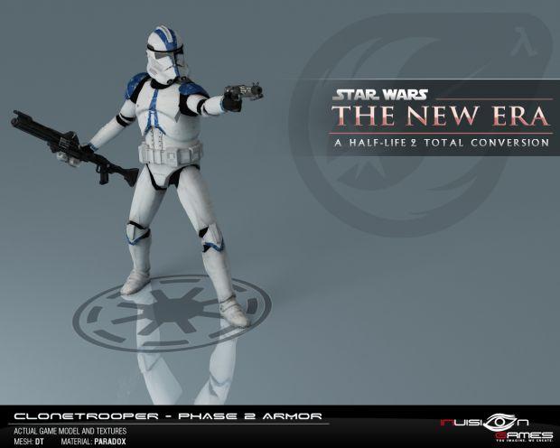 Clonetrooper - Phase 2 armor