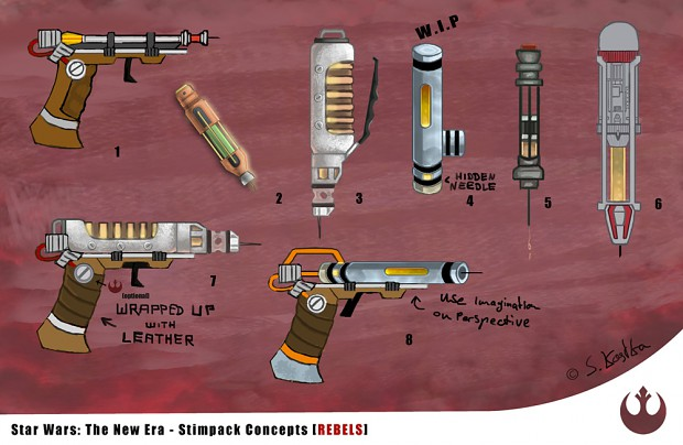 Rebel Stimpack concepts
