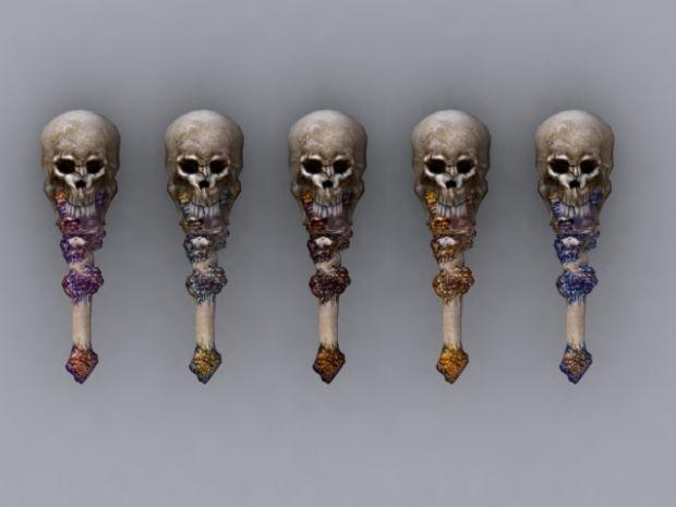 Skull Maces