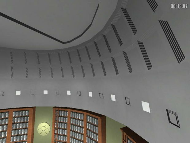 UV Library ceiling