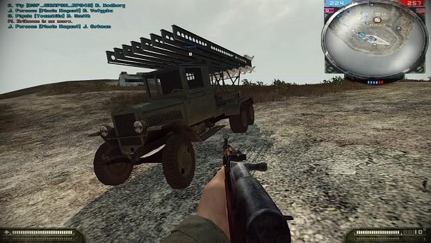 Katyusha (BM-13) MLRS
