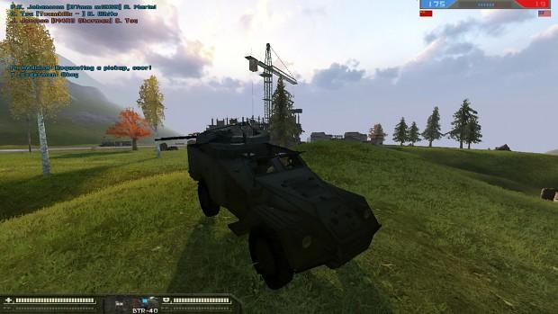 BTR-40A SPAAG