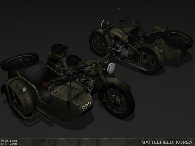 M72 with Sidecar