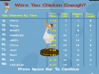 Top Chickens Table (high score table)